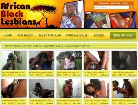 AfricanBlackLesbians – SiteRip
