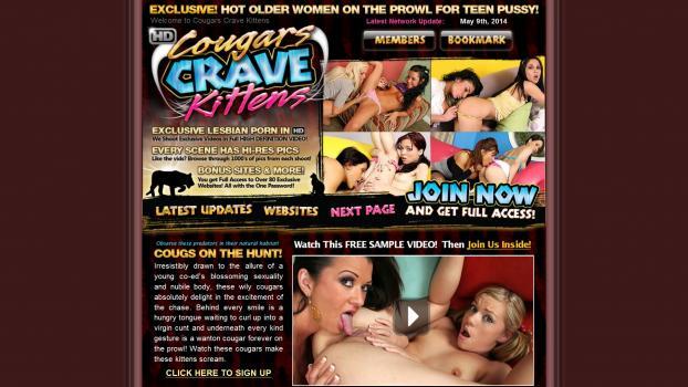 CougarsCraveKittens.com - SiteRip