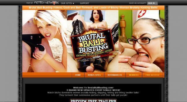 BrutalBallBusting - SiteRip