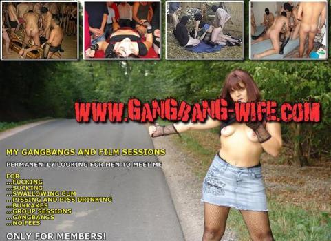 Gangbang-Wife - SiteRip
