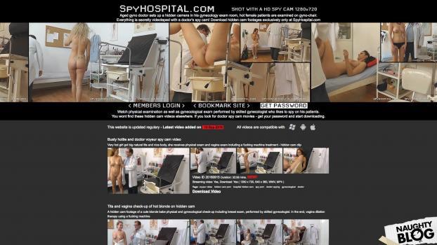 SpyHospital.com - SITERIP